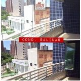 barato cortina de vidro instalação Fortaleza