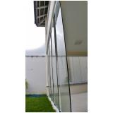 cortina de vidro automática preço Ceará