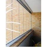 cortina de vidro automatizada Ceará