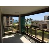 cortina de vidro deslizante para apartamento Ceará