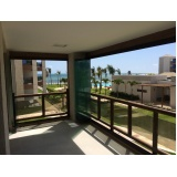 cortina de vidro na varanda Ceará