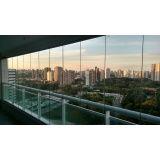cortina de vidro para fechamento de varanda em Fortaleza