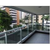 cortina de vidro temperado preço Caucaia
