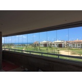 cortina de vidro temperado Caucaia