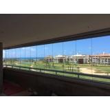 cortina de vidro temperado Aquiraz