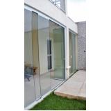 cortinas de vidro automática Ceará