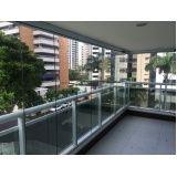 cortina de vidro para apartamento
