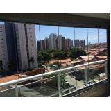cortinas de vidro deslizante painel Fortaleza