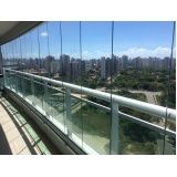 cortinas de vidro para fechamento de varandas Ceará
