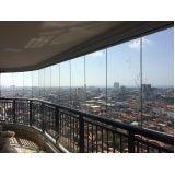 cortinas de vidro para varandas em Fortaleza