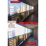 envidraçamentos de varanda com vidro temperado Aquiraz