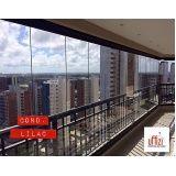 fechamento com vidro de varandas em Fortaleza