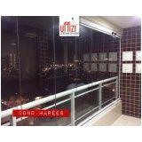fechamento de área de serviço com vidro em Fortaleza