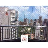 fechamento de sacada em vidro temperado em Fortaleza