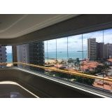 fechamento para varanda com vidro preço em Fortaleza