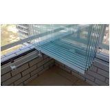 fechamento em vidro de varanda