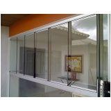 fechar varandas com vidro preço Ceará