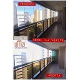 instalação de cortina de vidro preço Ceará