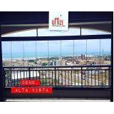 onde encontrar fechamento com vidro de varandas em Fortaleza