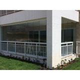 orçamento de cortina de vidro temperado Ceará