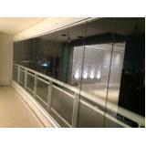 quanto custa cortina em vidro deslizante para apartamento Ceará