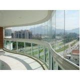 quanto custa fechamento varanda vidro preço em Fortaleza