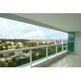 quanto custa fechar varandas com vidro em Fortaleza