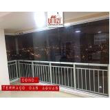 varanda com vidro refletivo Ceará