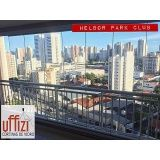 vidro para varanda de apartamento em Fortaleza
