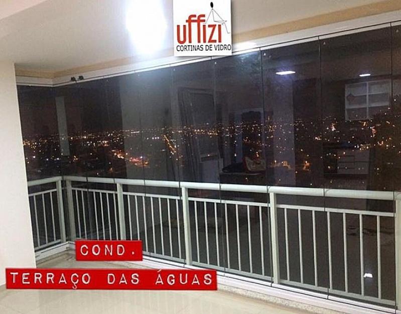 Varanda com Vidro Refletivo Fortaleza - Sacada com Vidro Retrátil