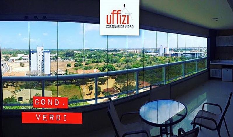 Varandas com Vidro para Apartamento Aquiraz - Varandas com Vidro Fume