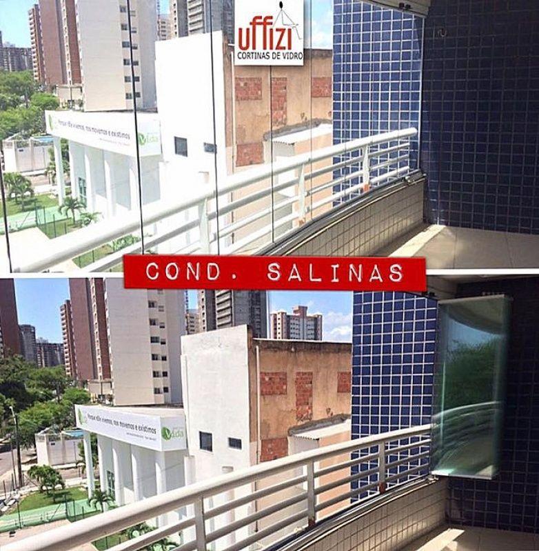 Vidros para Varandas de Apartamento em Fortaleza - Vidros para Sacadas