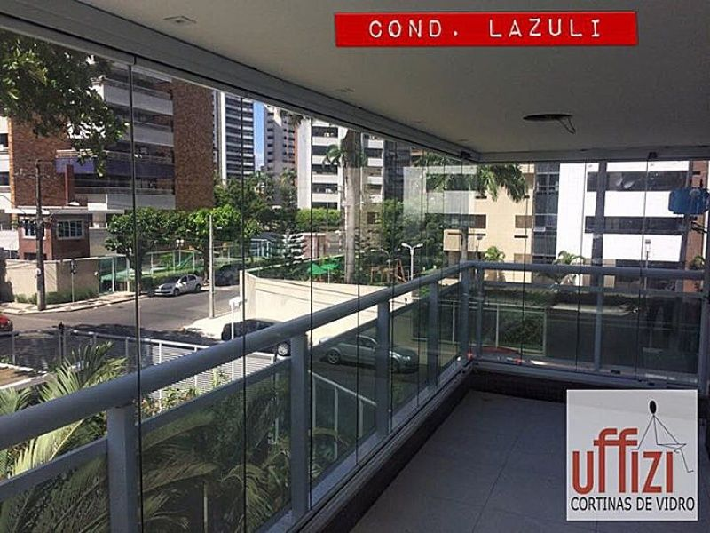Vidros Temperados para Varandas em Fortaleza - Envidraçamento de Varanda de Apartamento